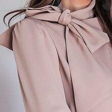 بلوزة فورمال أنيقة بربطة عنق مميزة من الأزياء الكورية