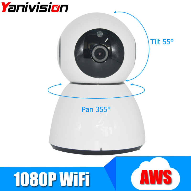 Yanivision Smart Home Security Wifi Camera 1080P HD Cloud Storage P2P IR Night Vision Network Surveillance Camera Wi-fi Wireless 720p hd wifi camera p2p wireless baby monitor security camera cloud storage night vision camera compatible with sensor detector