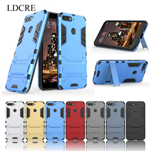 For Huawei Honor 7A Case ,LDCRE Hard Back Rubber Phone Cover for Y6 2018 Pro Bag Coque
