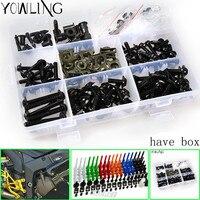 Fairing bolts full screw kits For HONDA CBR1000RR 04 05 CBR1000 RR CBR 1000RR CBR 1000 RR 04 05 2004 2005 Nuts bolt screws kit