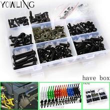 Fairing bolts full screw kits For HONDA CBR1000RR 04-05 CBR1000 RR CBR 1000RR CBR 1000 RR 04 05 2004 2005 Nuts bolt screws kit стоимость