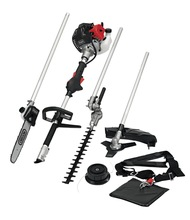 52cc 4 in 1 Petrol Gardening Kit Whipper Snipper, Hedge Trimmer lawn mower gardening tool