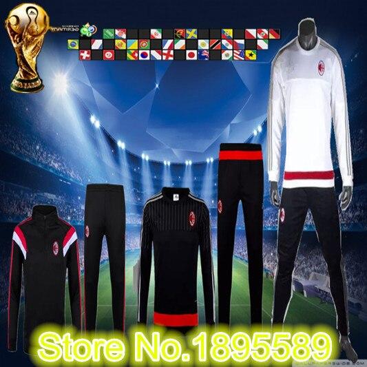 traje AC Milan deportivas