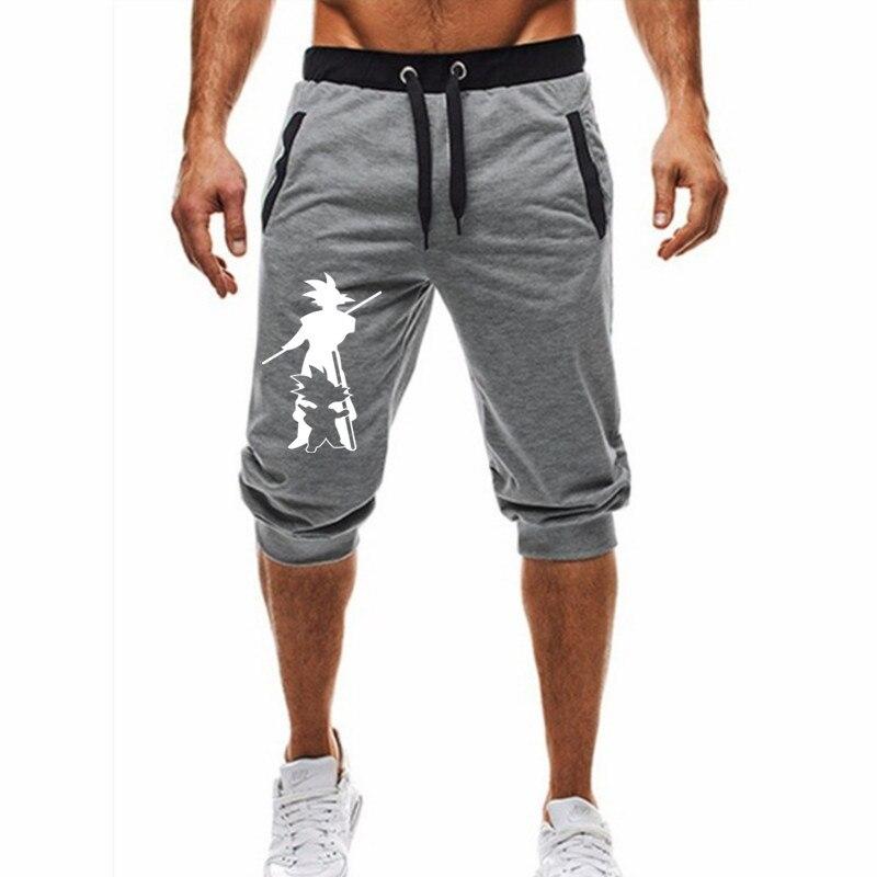 2019 New Dragon Ball Shorts Goku Men Japanese Anime Cartoon Casual Shorts Funny Shorts Wukong Clothing Wholesale