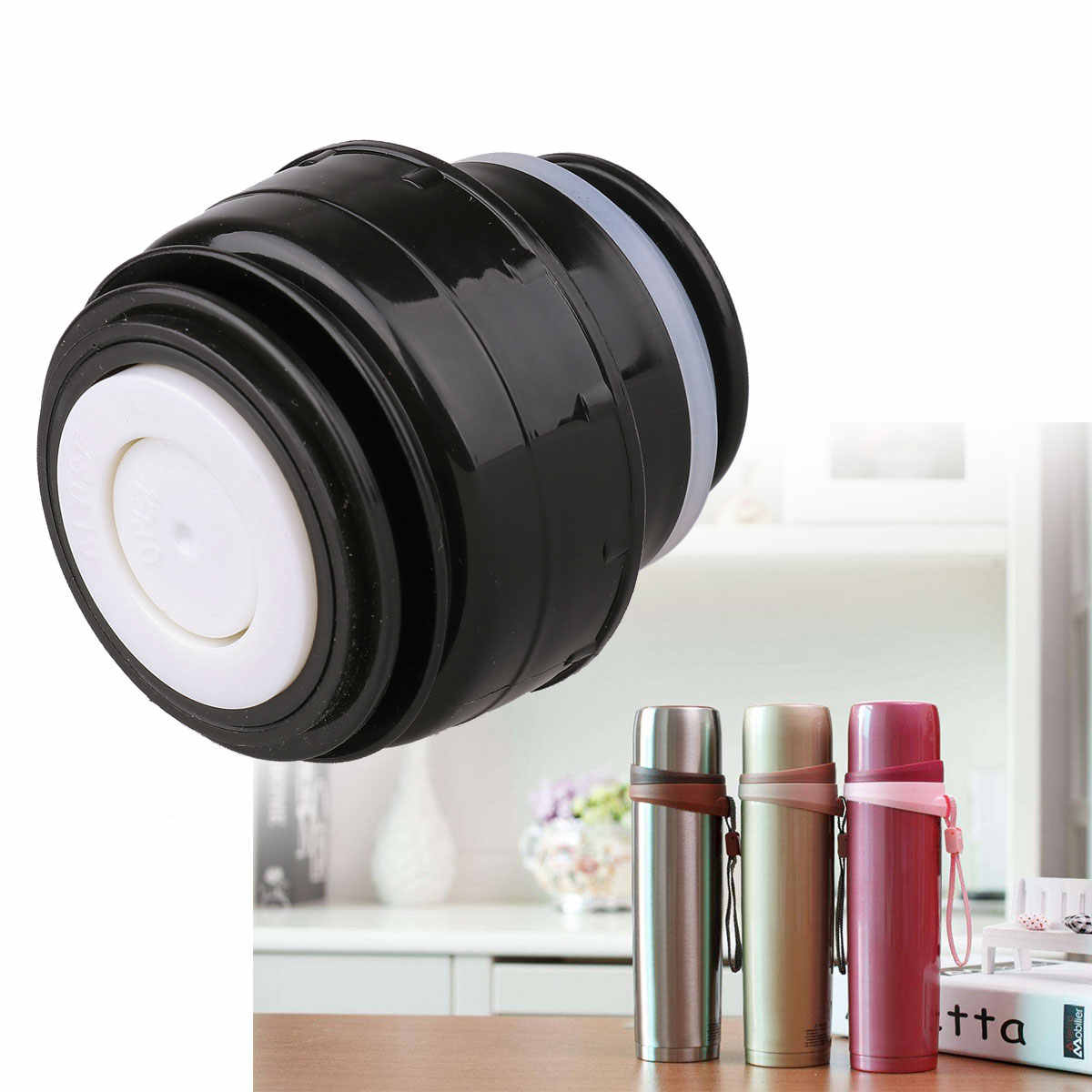 4.5/5.2cm Thermos Bottle Cover Thermo Cap Outlet Cup Mug Stopper Thermal Cup Lid Bullet Flask Empty Covers Thermose Accessories