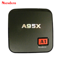Nsendato A95X A1 Android 6 0 TV BOX Amlogic S905X 1GB 8GB Quad Core 4K 3D