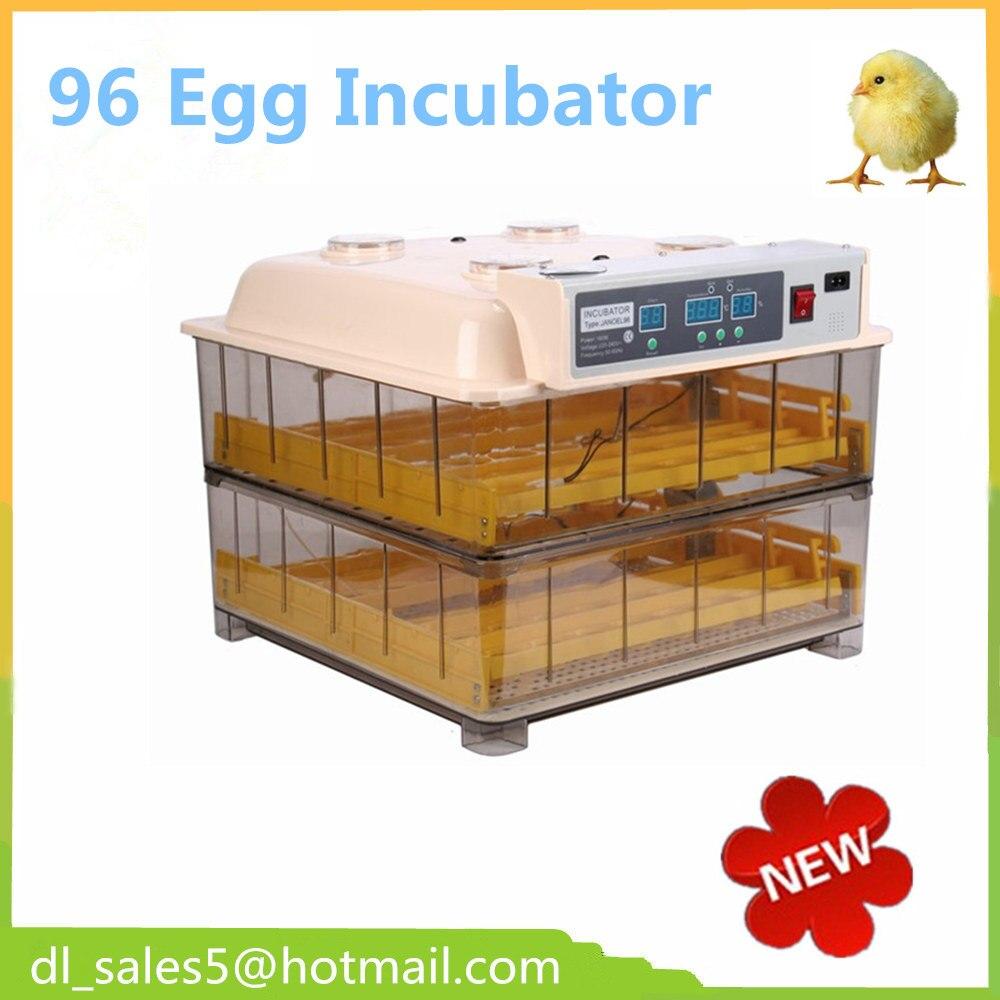 Brand Automatic  96 Eggs Transparent Incubator High Hatching Rate  Cheap Mini Chicken Egg Incubator  цены