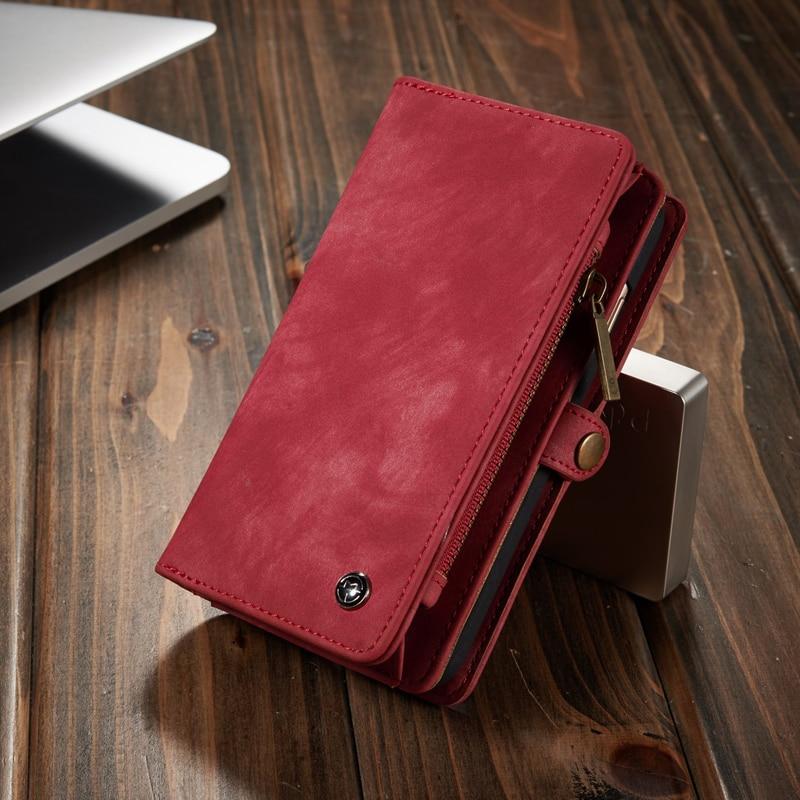 Retro lyxigt äkta läderfodral för iphone 6 6S 7 Plus väska - Reservdelar och tillbehör för mobiltelefoner - Foto 6
