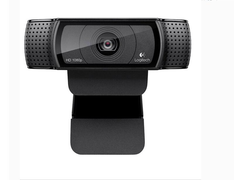 Prix pour 100% 2015 logitech pro c920 hd webcam 1080 p webcam vidéo d'enregistrement, 15 millions de pixels avec l'emballage de détail