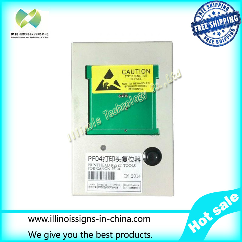 Chip Resetter for Canon PF-04 Printhead Reset Canon IPF LFP Series New printer parts chip resetter for canon pf 03 printhead