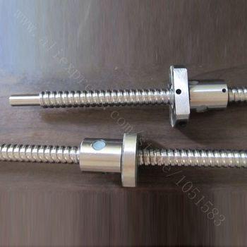 SFU01204 ось Z Высокая точность T12 шариковый свинцовый винт с гайкой, T8 гладкие концы, общая длина 500 мм для 3d принтера, ЧПУ
