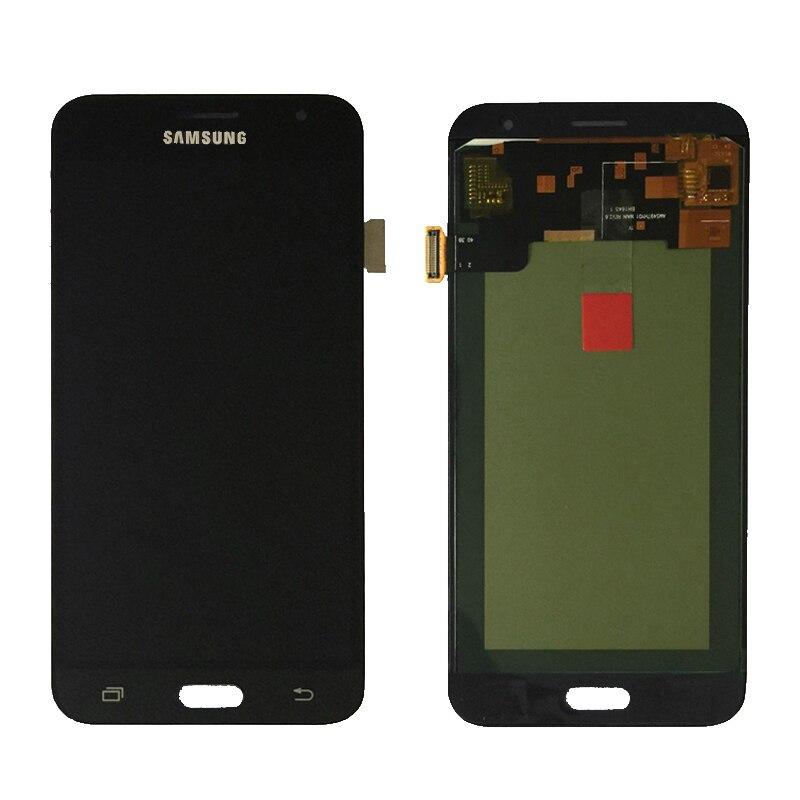 Para Samsung Galaxy J3 2016 J320 J320A J320F J320M pantalla LCD con pantalla táctil digitalizador Asamblea se puede ajustar el brillo