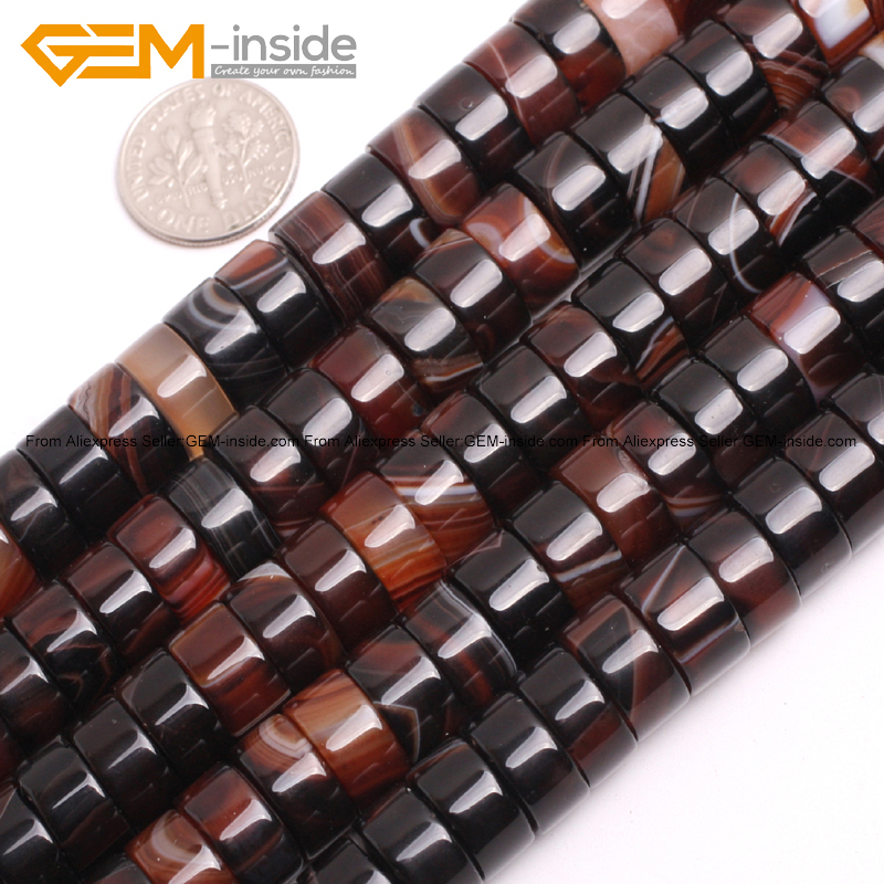 Natural Rondelle Dream Lace Agates Spacer Stone Beads For Jewelry Making Bracelets Necklace 15inches DIY Jewellery Gem-inside