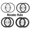 Ship From Germany 24mm 38mm 50mm 60mm 88mm Clincher Carbon Road Bike Bicycle Wheelset Full Carbon Wheels Novatec Hubs