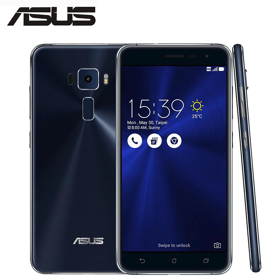 Original NEW Asus Zenfone 3 ZE552KL 4G LTE Android 6.0 Mobile Phone 5.5