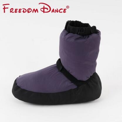 Μπαλέτο ζεστά παπούτσια Μπαλέτο ζεστά παπούτσια Unisex Μπατλέ παπούτσια χορού Προστασία πόδι ζεστά παπούτσια Χορός Χρήση και Αρχική