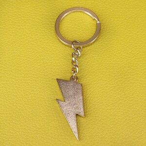 Image 2 - 번개 키 체인 데이비드 보위 영감 스타 더스트 열쇠 고리 아트 쥬얼리 음악 선물 남성 액세서리