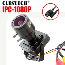 цена 48VPOE Mini Metal HD CCTV Zoom IP Camera 1080P 720P 2mp 2.8m-12mm Manual focusing Djustable Lens P2P Internal Micro video webcam в интернет-магазинах