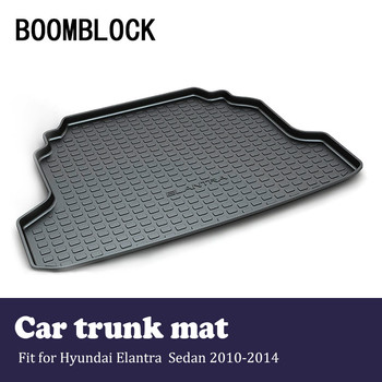BOOMBLOCK Car Accessories Covers Trunk Mat Cargo Liner For Hyundai Elantra Sedan 2017 2016-2004