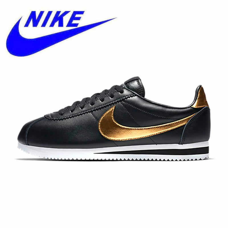44778b399 NIKE CLASSIC CORTEZ SE Original New Arrival Official Men s Waterproof Running  Shoes Sports Sneakers Trainers