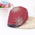 6 Colores Sombreros de La Boina de Lana Roja Chica de Moda de Verano Unisex plana cap boinas país vintage boinas sombrero al aire libre para las mujeres hombres