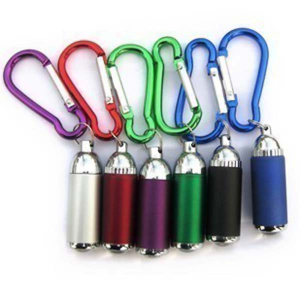 B812 Zooming LED Keychain Mini LED Flashlight (5pcs/lot)