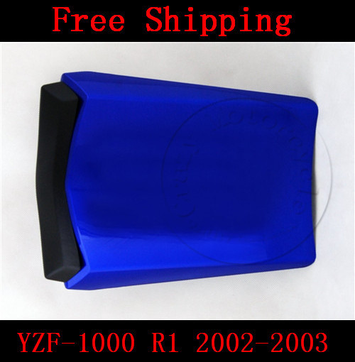 For Yamaha YZF 1000 R1 2002-2003 motorbike seat cover Motorcycle Blue fairing rear sear cowl cover Free Shipping for yamaha yzf 600 r6 2006 2007 motorbike seat cover high quality motorcycle black fairing rear sear cowl cover