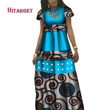 Hitarget danshiki african dresses for women print clothing Wedding party dress customized  WY3904