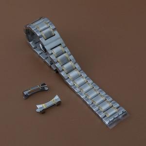 Image 3 - Watchband 19mm 20mm 21mm 22mm zegarek bransoletki wysokiej jakości zegarek ze stali nierdzewnej akcesoria darmowe zakrzywione końcówki dla mężczyzn kobiet nowy