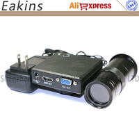 1080P Industry Camera CMOS HDMI VGA CCD Microscope Camera Built in measurement software+100X/180X/300X C Mount Lens For Repair