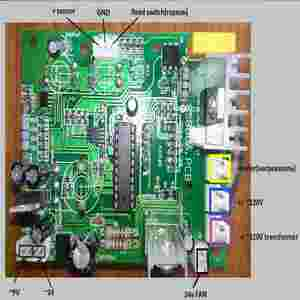 Image 5 - 220v Digital display desoldering circuit IC pull  Heat gun control panel 858d circuit PCB board temperature control board