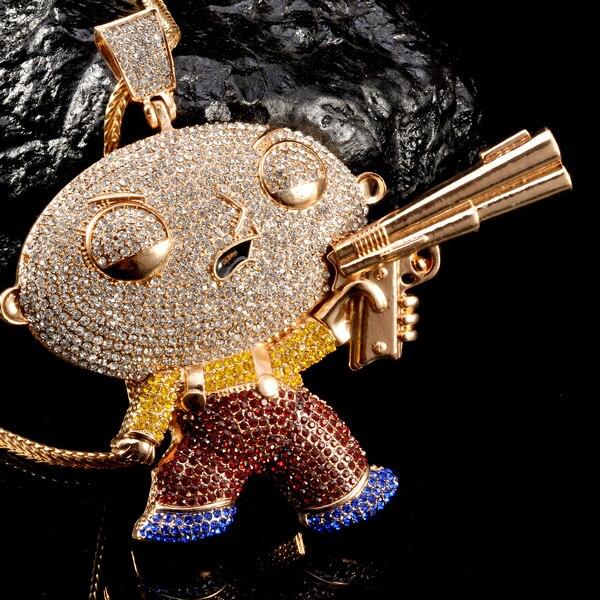 fd7b80fbf591eb new design gold pendant for men