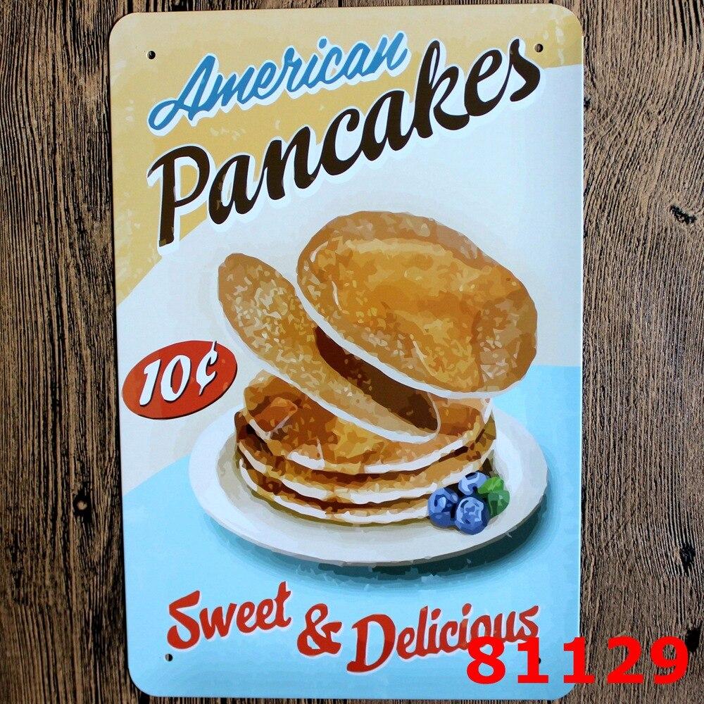 Vintage Breakfast Signs