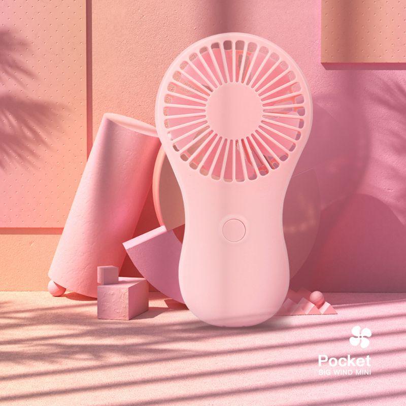 Mini ventilador de bolsillo portátil encantador, Enfriador de viaje de mano de aire fresco, ventilador eléctrico con batería de refrigeración, Mini ventiladores|fanáticos|   - AliExpress