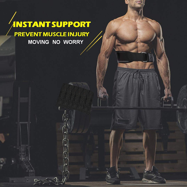 WorthWhile Gym Fitness Waist Belt for Weightlifting Accessories Slim Training Lumbar Brace Protector Bodybuilding Waist Trainer 4