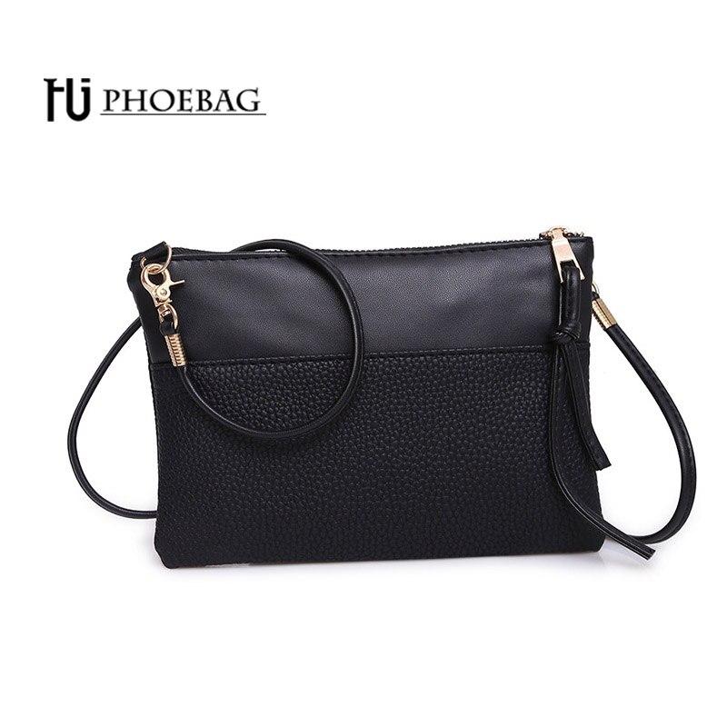 HJPHOEBAG NUEVO Diseño mujeres Messenger bags Embragues del sobre bolsos de Alta