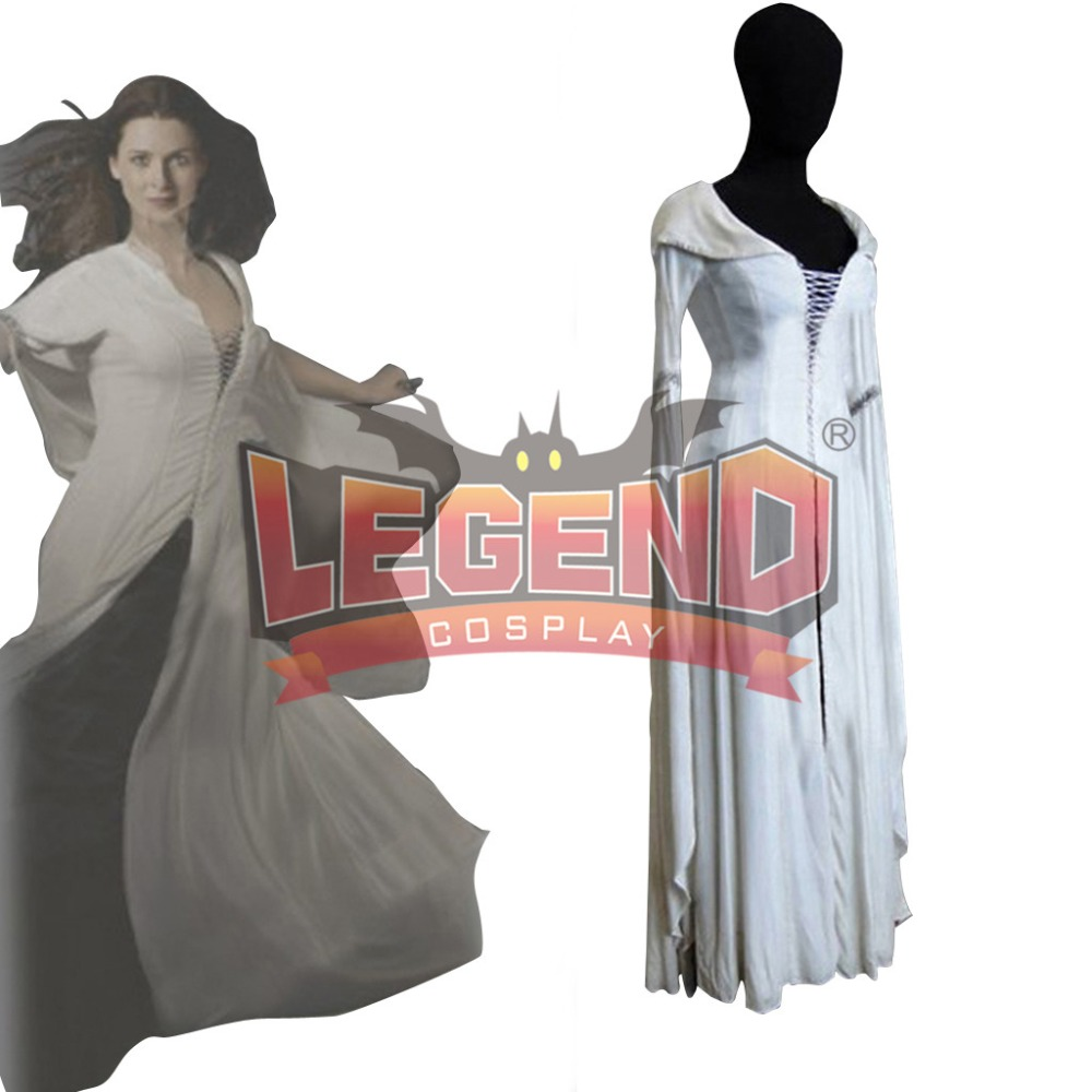Kahlan Amnell Confessor Dress Cosplay Costume From Legend of the Seeker cosplay custom made