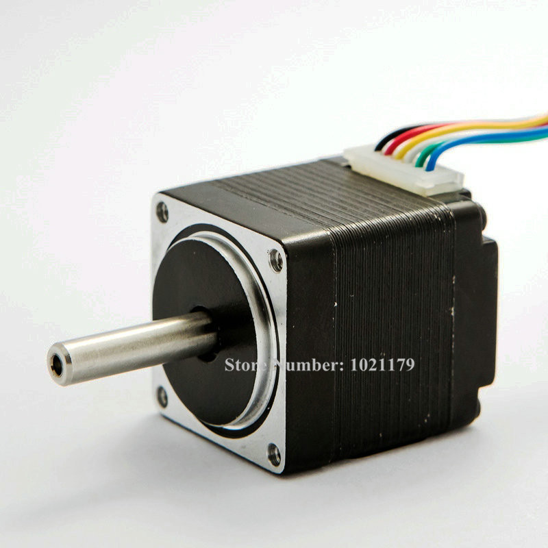Nema 11 stepper motor 2 phase 4 leads 32mm small dc for Small dc servo motor