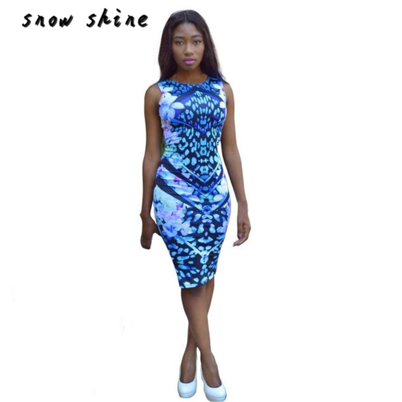 snowshine YLI Women Sexy Summer Bandage Bodycon Floral Evening Party Short Mini Dress free shipping
