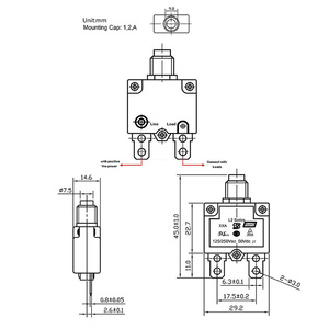 Image 3 - Sovraccarico termico Protector Interruttore di Pulsante Mini Interruttore Termico 5A/10A/15A/20A/30A