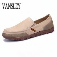 38 48 Canvas Shoes Men Summer Autumn Man Slip On Shoes Mens Casual Shoes Breathable Footwear