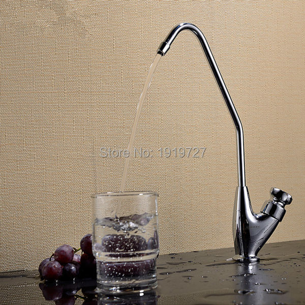 Factory Direct Forever Hot Low Lead Country Solid 100 Brass Round Classic Style Kitchen C Spout
