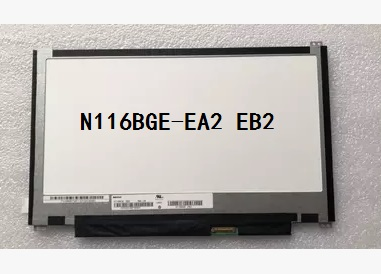 N116BGE-EA2 EB2 11.6 inch Laptop LCD screen, free delivery free shipping 11 6 laptop led display lcd screens b116xw03 v 2 n116bge l41 n116bge l42 for acer aspire one 722 725