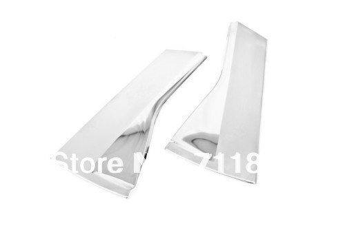Car Styling Chrome C-Pillar Cover Plate For Nissan Qashqai Dualis 2007-2009 image