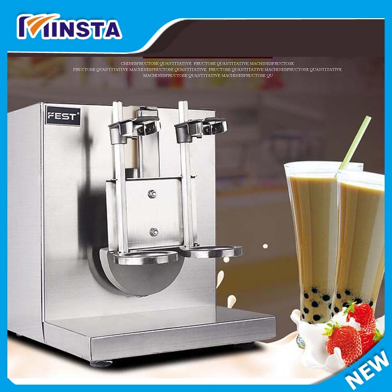 Double frame Auto Bubble Boba Tea Milk Shaker Shaking Making Machine Mixer