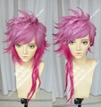 Free Track Anime The Piltover Enforcer Vi  League of Legends Cosplay Wig Costume Heat Resistant + Cap