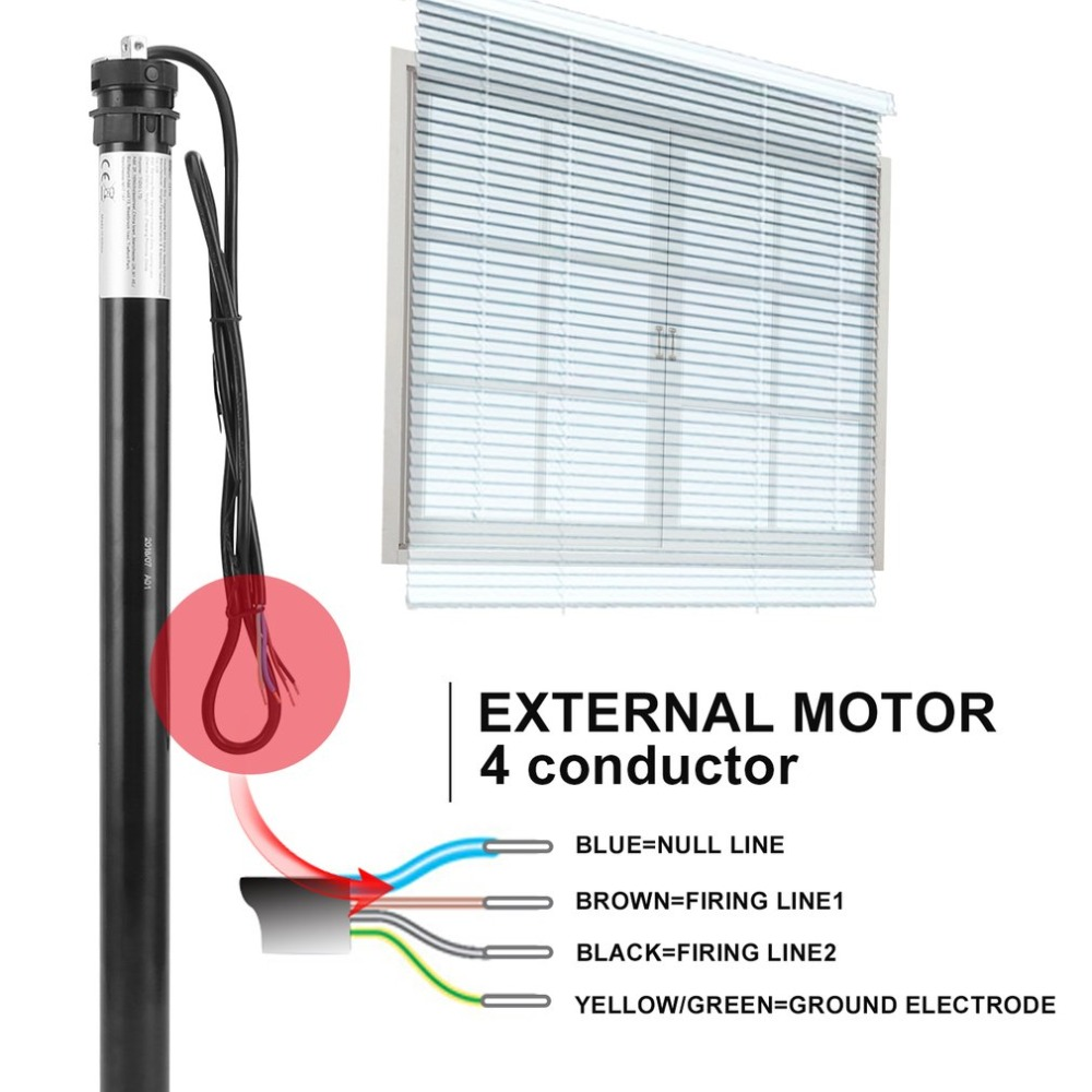 FT45B 10Nm Roller Shutter Motor 40mm Electric Roller Blinds Motor Tubular Automatic Curtains Motor Limit MotorFT45B 10Nm Roller Shutter Motor 40mm Electric Roller Blinds Motor Tubular Automatic Curtains Motor Limit Motor