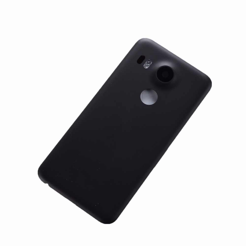 Оригинальный Для LG Nexus 5X задняя крышка батарейного отсека задняя дверь корпус чехол для LG Google Nexus 5X Крышка батарейного отсека