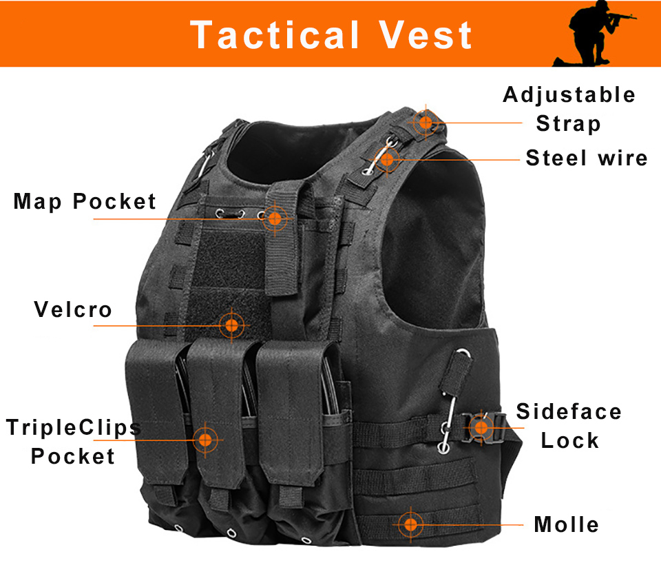 2019 Usmc Tactical Vest Molle Combat Assault Plate Carrier Tactical Vest Cs Outdoor Clothing Hunting From Simmer 4565 Dhgatecom
