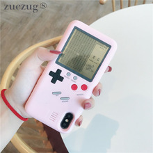 Original ZUCZUG Gameboy Tetris Phone Case for iPhone X 7 8 plus 6 6s Hard PC Full Cover Back Shell